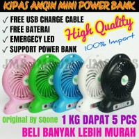 Kipas Angin Mini USB Portable Mini Fan Murah
