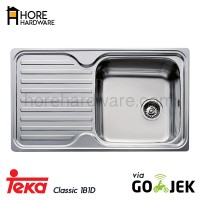 TEKA Bak Cuci Piring / Kitchen Sink CLASSIC 1B 1D (Via Go-Sent)