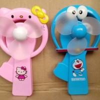 Jual Kipas Tangan / Portable Manual Fan ( Hello Kitty Doraemon ) Murah