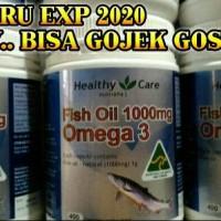 Jual MINYAK IKAN HEALTHY CARE FISH OIL 1000 mg OMEGA 3 Murah