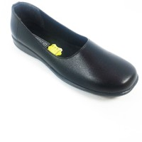 Sepatu Wanita Pantofel Paskibraka Flat Shoes Arl Hitam