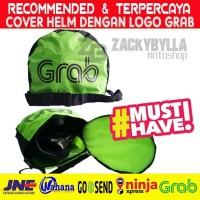 Cover Helmet GRAB, Tas Helm Anti Hujan untuk Pengendara GrabBike