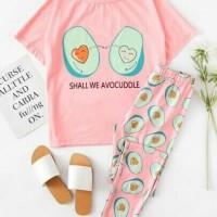 Harga piyama celana stl spandek velian pdk combi pink | antitipu.com