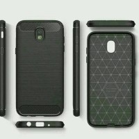 Samsung Galaxy J7 Pro 2017 Softcase Carbon Texture Case Not Hardcase