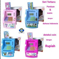 Celengan ATM Mini Bhs Indonesia ( DISTRIBUTOR)