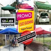 Tenda Lipat Folding Bazar Booth Stand Pameran Dagang Jualan Carport