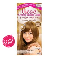 Liese Creamy Bubble Hair Color - Marshmallow Brown