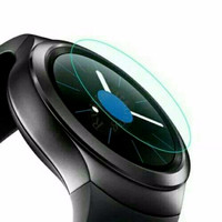 Jual tempered GLASS screen protector for Samsung Gear S2 sport & S2 classic Murah