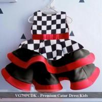 Distributor Dress anak online - VG79PCDK - Premium Catur dress kids