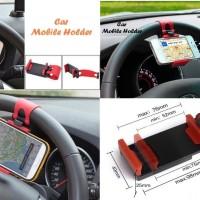 Jual car holder stir mobil universal dudukan hp clip mount Berkualitas Murah