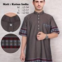 Jual baju koko pakistan gamis baju muslim pria baju taqwa baju sholat ad Murah
