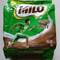 NESTLE MILO ACTIV-GO 3 IN 1 MILO MALAYSIA ISI 30 SACHET