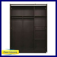 Harga paket best seller lemari pakaian 3 pintu meja rias | Pembandingharga.com