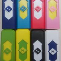 Jual BEST SELLER USB Rechargeable Lighter / korek api elektrik USB S SUPERM Murah