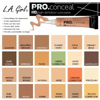 LA GIRL & LA COLORS HD PRO Concealer (Yellow Corrector)