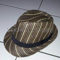 Jual MURAH topi fedora topi tompi anyaman import Murah