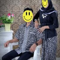 Jual Stelan Kebaya Kutubaru Floy Black White Couple Murah