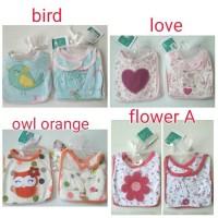 Set Slaber mitten (Sarung tangan) Sarung Kaki Bayi dan Murah