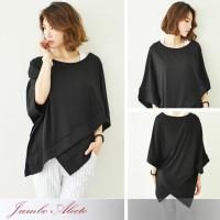 Harga jumbo alecto batwing blouse bigsize baju atasan wanita hitam | Pembandingharga.com