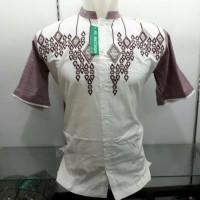 Baju Pria Busana Muslim Baju Koko Bordir Kombinasi Terb Murah