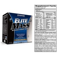 Strong Holdz ELITE MASS GAINER 10 lbs Dymatize Nutrition Resmi PT. DNI
