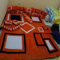 Jual karpet karakter bulu rasfur motif minimalis full set Murah
