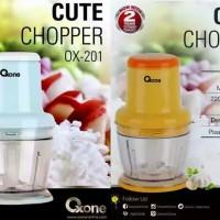 Oxone Cute Chopper OX-201 pencincang daging, bumbu, makanan