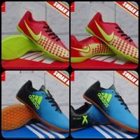 Sepatu Futsal Anak (Nike Mercurial Superfly Abu Orange Anak)