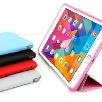 Jual Casing Folding Softjacket iPad mini 4 Slim Case Thin Silicon Synthetic Murah