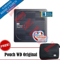 WD My Passport Wireless Pro Hardisk Eksternal 2TB USB3.0 - Hitam [PC]