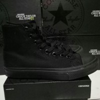 harga Converse Allstar Chuck Taylor Ii High All Black Premium Bnib Tokopedia.com