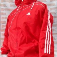 Jaket Lari Jaket Hujan Logo Adidas Tafeta Ukuran Dewasa Harga Murah