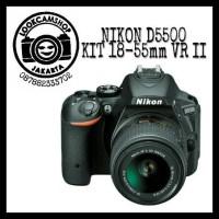 KAMERA DSLR NIKON D5500 D 5500 KIT AF-S 18-55mm VR II