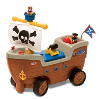 LITTLE TIKES PLAY SCOOT PIRATE SHIP