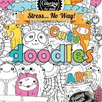 Jual Drawing & Coloring For Adult : Cute Doodles Art by W B Atmoko Murah