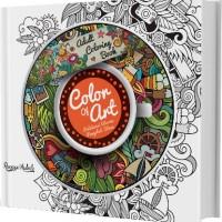 Jual Adult Coloring Book: Color Of Art by Ranggi Ariliah Murah