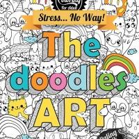 Jual Drawing & Coloring For Adult The Doodles Art by W B Atmoko Murah