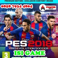 Isi game PES 2018 Xbox One offline