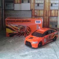 Jual Tomica Mitsubishi Evolution X custom Team Orange Drift School 1 Murah