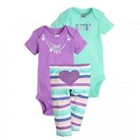Harga baju bayi set setelan jumper bayi purple | antitipu.com