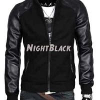 Jual Hotlist terlaris    JAKET NIGHT BLACK, JAKET KULIT GALANG GGS HITAM, Murah