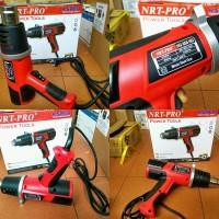 air hot gun NRT-Pro heat gun blower plastik shrink kaca film pvc