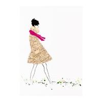 GO SEND IKEA BILD Poster 50x70 cm, Cecile