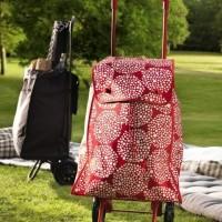GO SEND IKEA KNALLA Shopping bag with wheels, Tas Belanja dg Roda,
