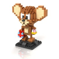 Lego Nano Block Loz Jerry Tom and Jerry KODE TR5498