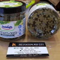 Snack Pembersih Gigi Anjing Dentalight Seaweed Flavour