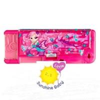 Smiggle Pencil Case Pop Up Mermaid Pink