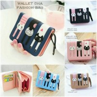 dompet wanita cats mini wallet