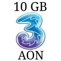 Harga perdana paket kuota internet 3 three aon 10 gb | Pembandingharga.com