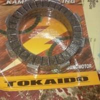 KAMPAS KOPLING FR 80 TOKAIDO 7 LEMBAR PAS UNTUK RUBAHAN KOPLING YAMAHA